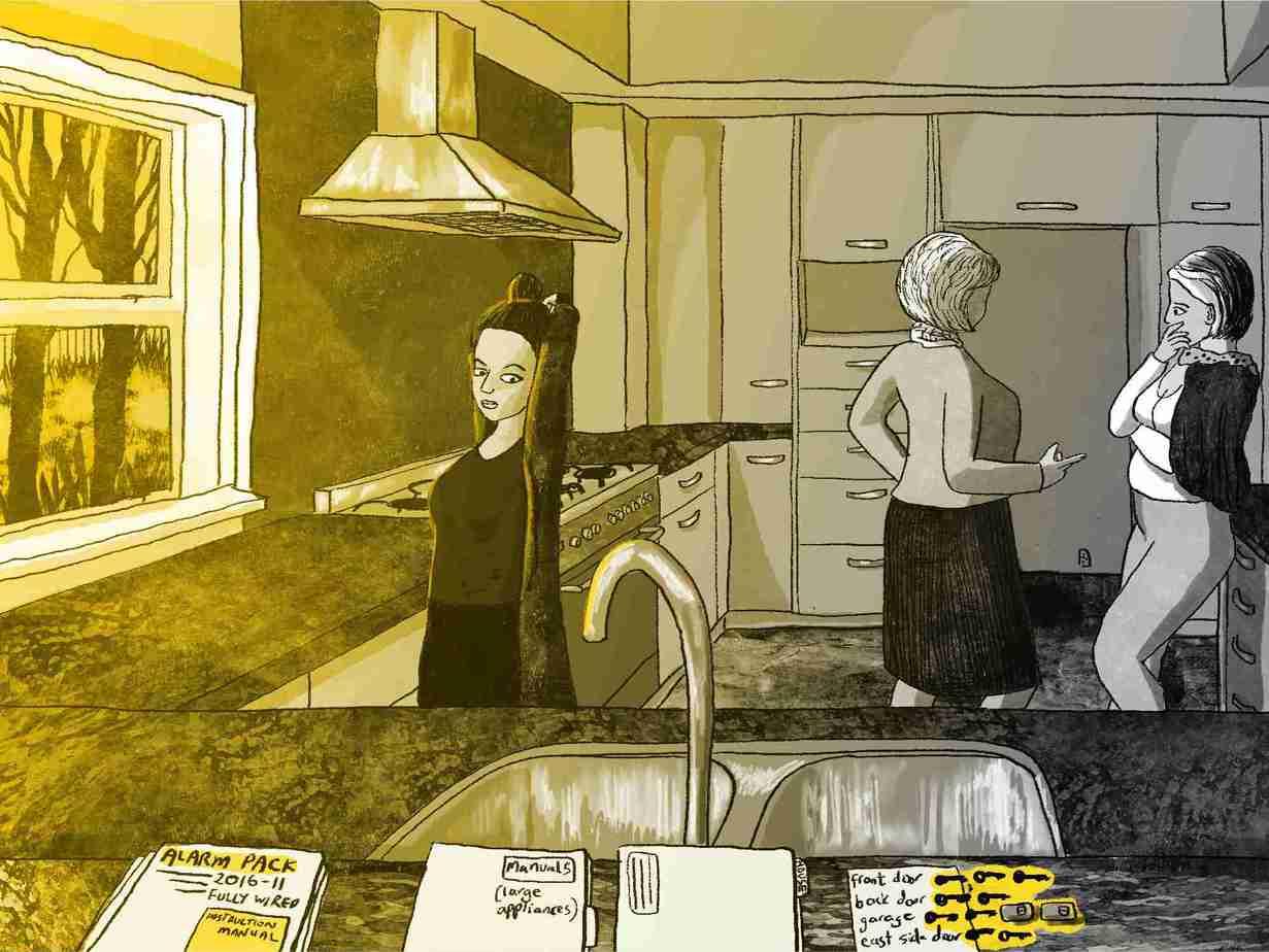 Charlie-Michelle-REA-in-Kitchen